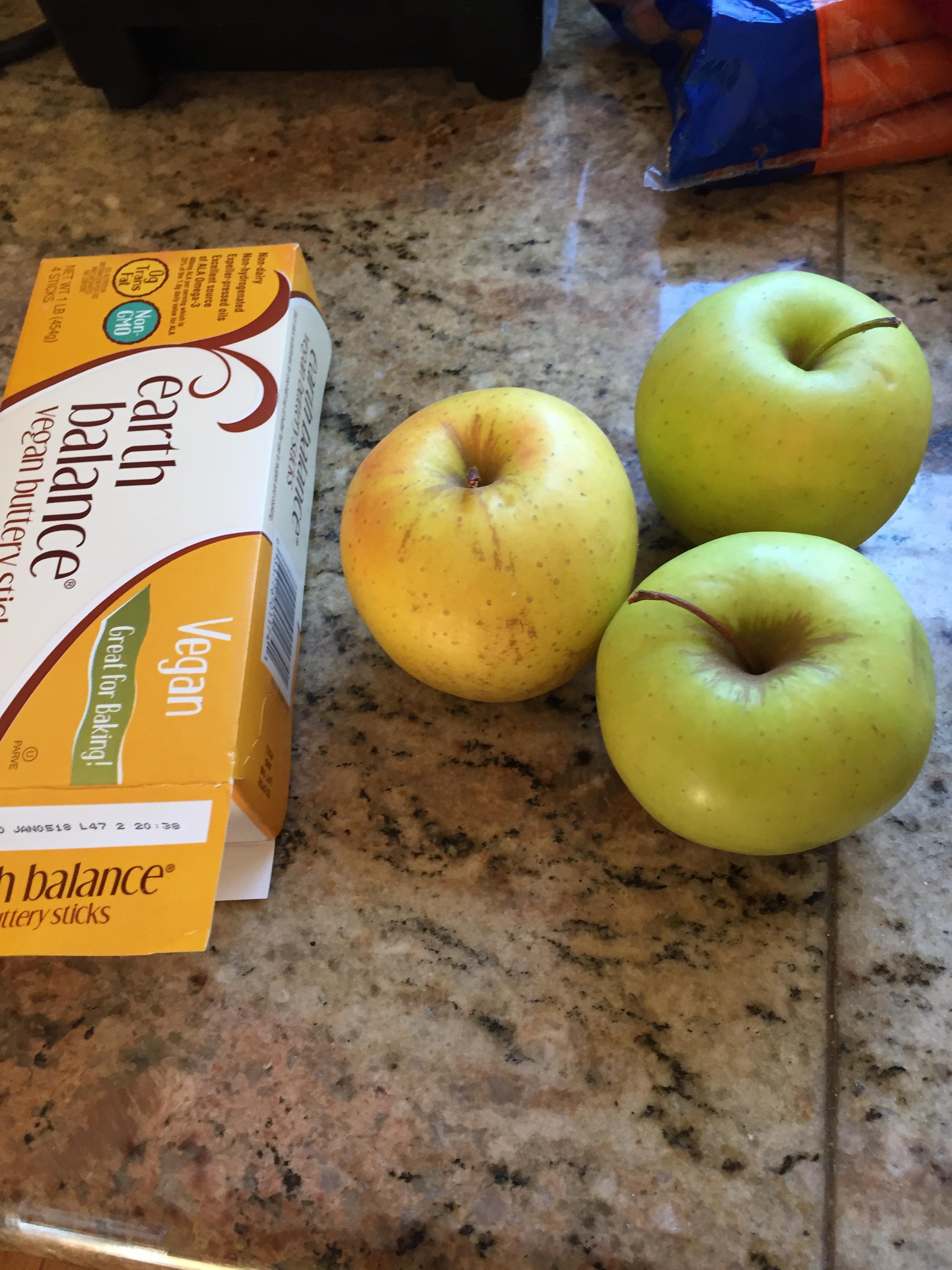Vegan Apple Pie Ingredients