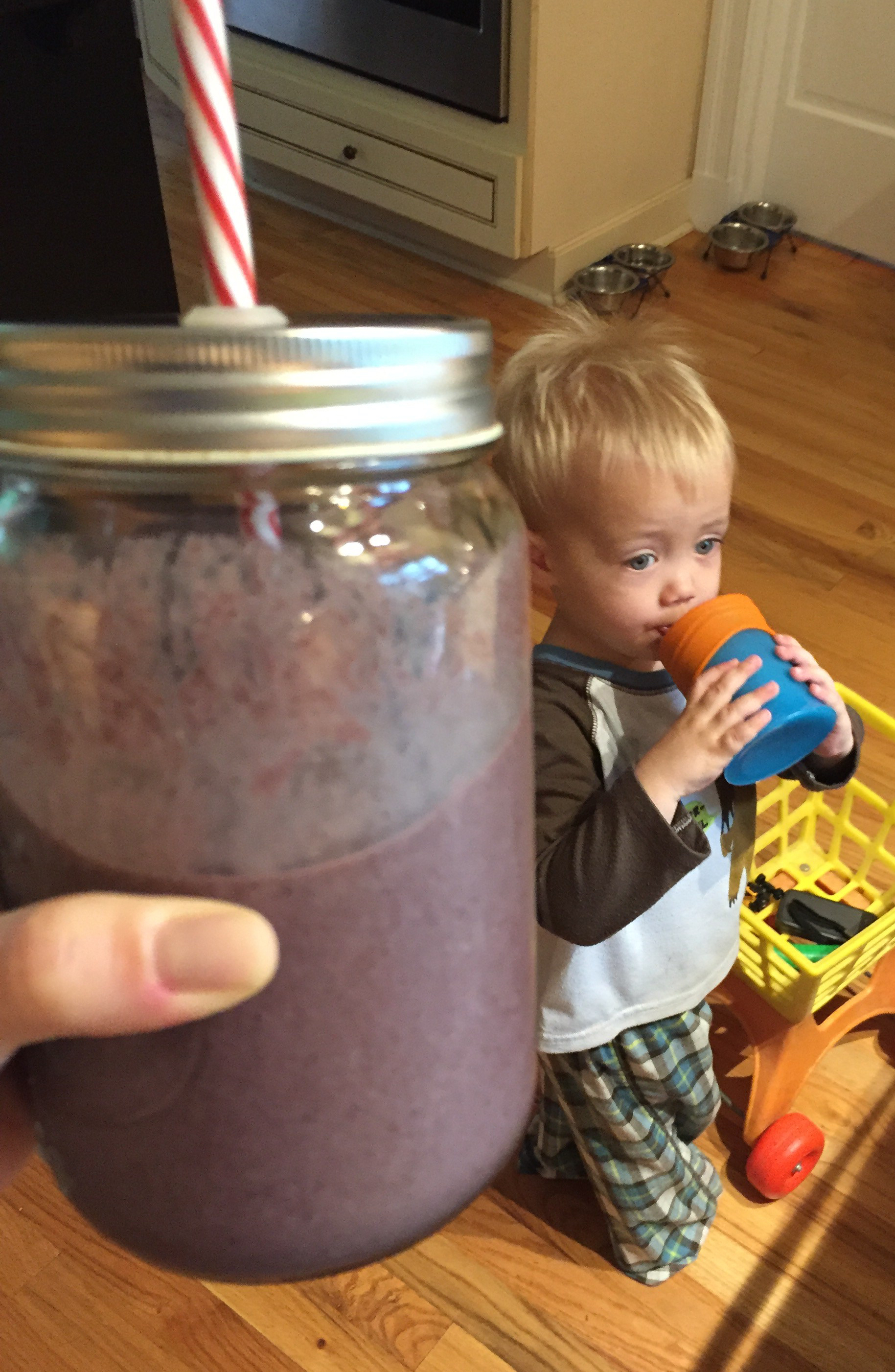 The June Baby and His Smoothie