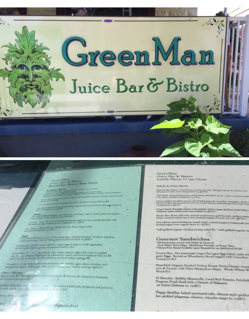 Green man Juice Bar and Bistro